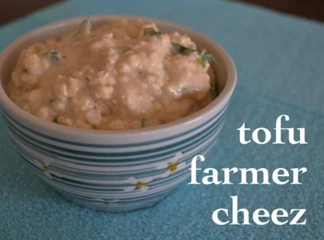 Tofu Farmer Cheese from Ann Oliverio