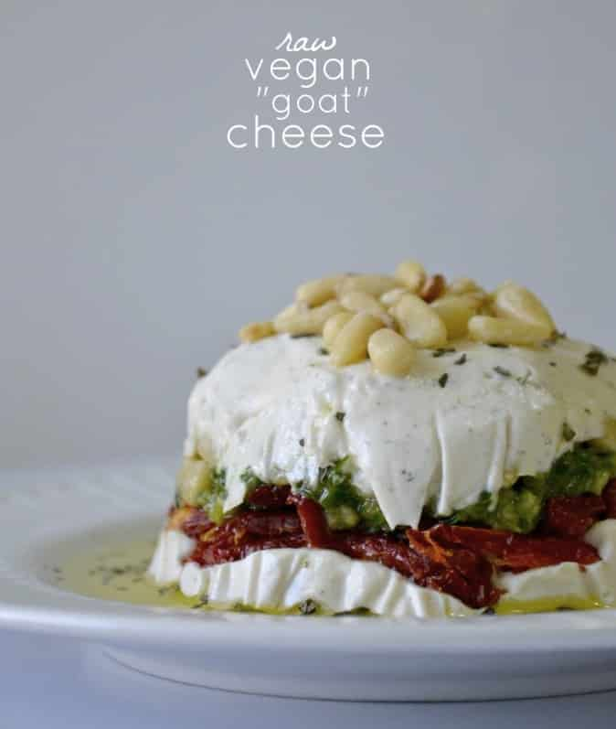 Raw Vegan Goat Cheese from Cara Reed of ForkandBeans.com