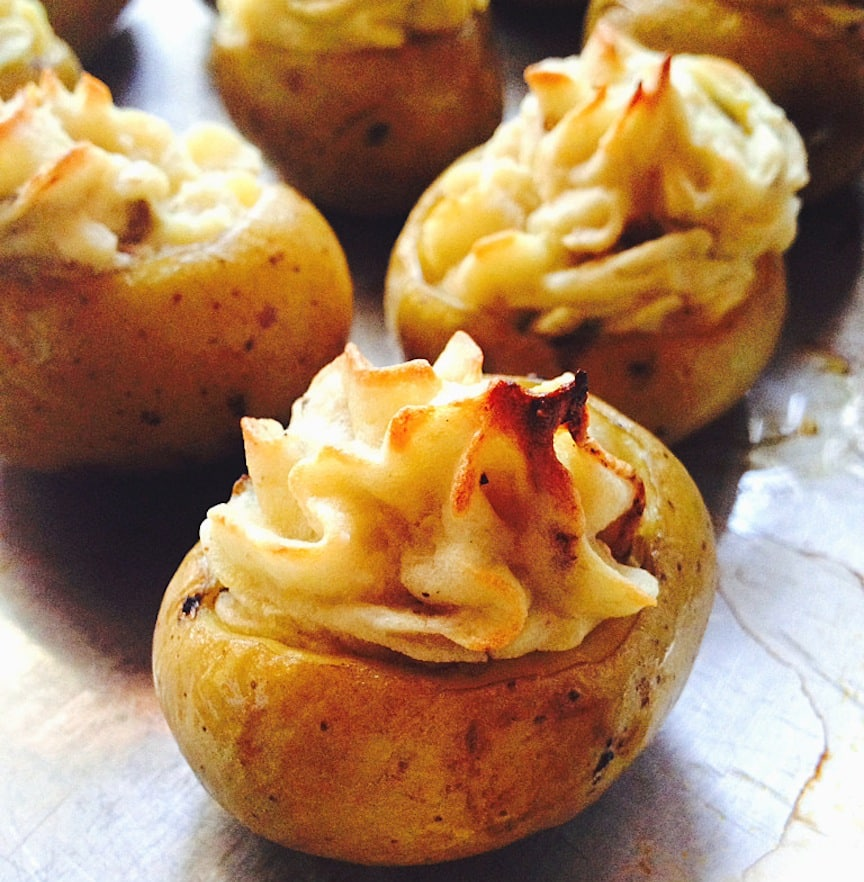 Twice Baked Potatoes by Joelle Amiot from jarOhoney