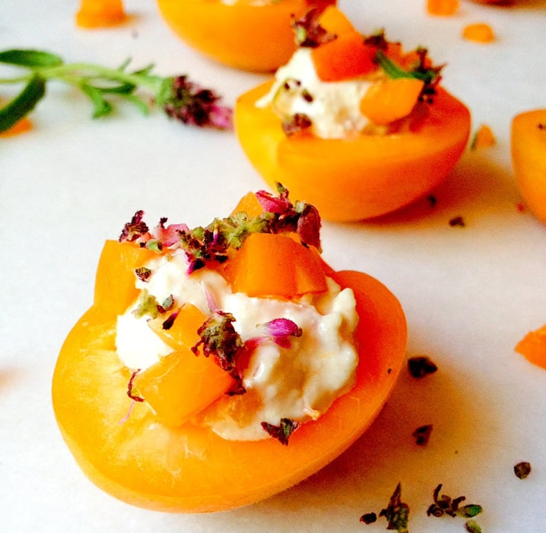 Lavender Nut Stuffed Apricots from Joelle Amiot's JarOHoney