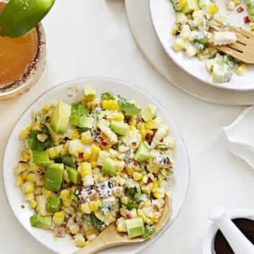 Mexican Roasted Corn Salad by Terry Hope Romero from Salad Samari
