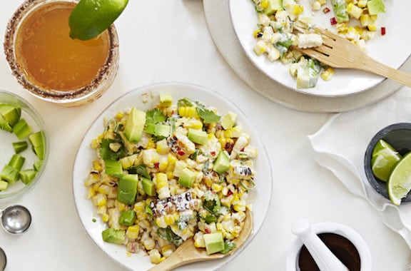 Mexican Roasted Corn Salad by Terry Hope Romero from Salad Samari