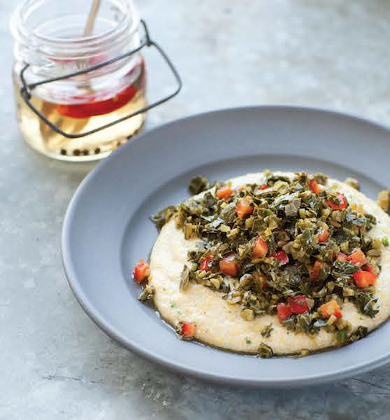 Grits and Greens by Bryant Terry from Afro-Vegan