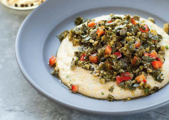 Savory Grits by Bryant Terry from Afro-Vegan