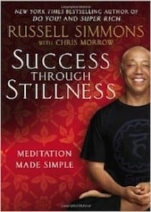 Success through stillness by Russell Simmons - cover