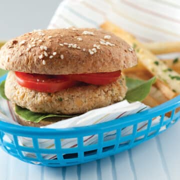 quinoa burgers recipe by Julie Hasson