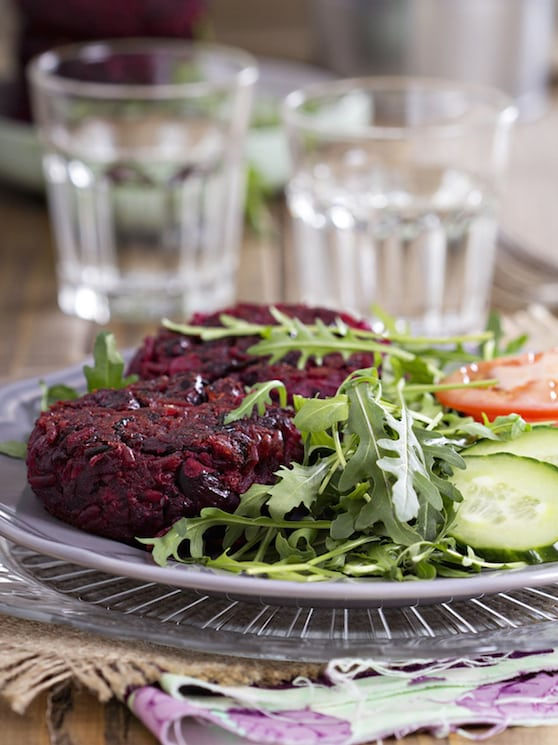 Vegan beet burgers recipe
