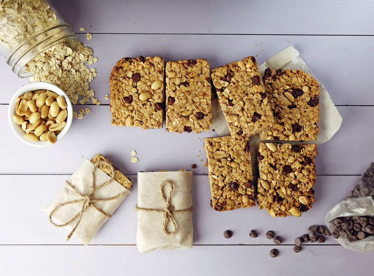 Peanut Butter Bars from Isa Moskowitz from Post Punk Kitchen