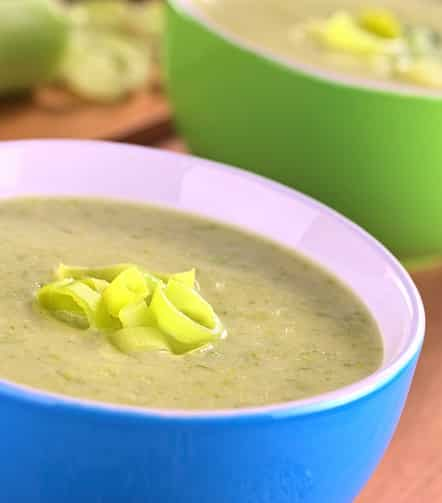 Leek soup from V5IG