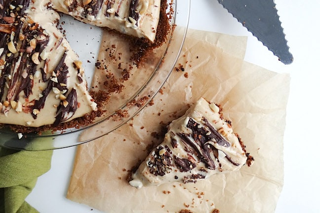 Peanut Butter Pie by Sharon Palmer from Plant-Powered