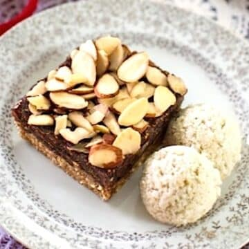 Unbaked fig bars by Gena Hamshaw