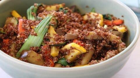 LCR 0260 Inca red quinoa SF2