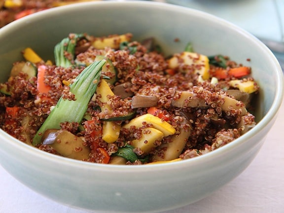 Inca Red Quinoa from Viva La Vegan