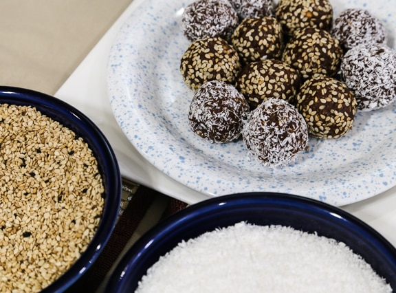 No-bake maca-roons recipe