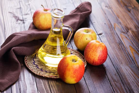 Apples and apple cider vinegar