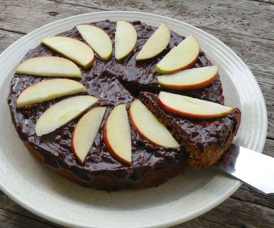 Vegan Sweet Potato Chocolate cake