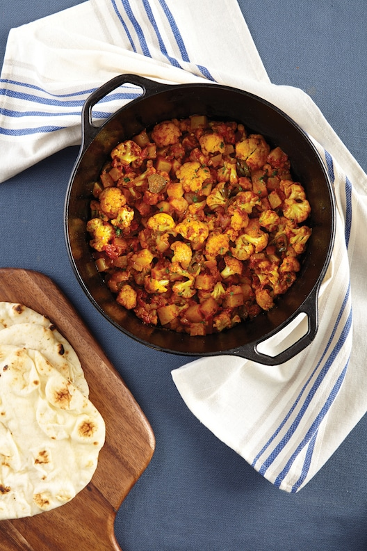 Aloo Gobi by Julie Hasson from Vegan Casseroles