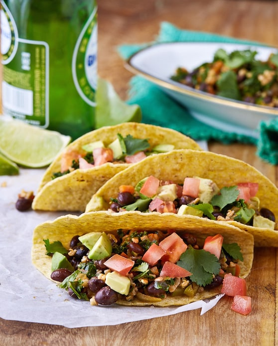 Veggie oat taco filling recipe