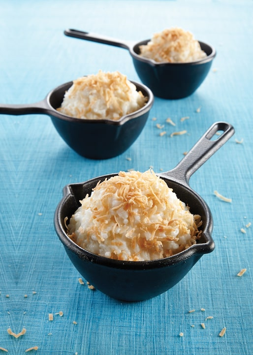 Coconut Rice Pudding by Julie Hasson from Vegan Casseroles