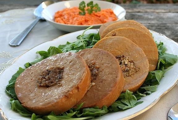 Tofurky vegetarian roast review
