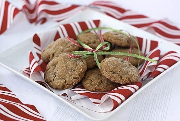 Vegan Ginger Cookies from One Green Planet