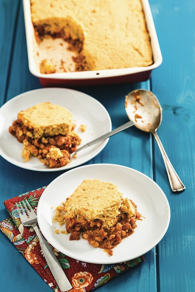 Maple Baked Beans with Cornbread But I Could Never Go Vegan by Kristy Turner