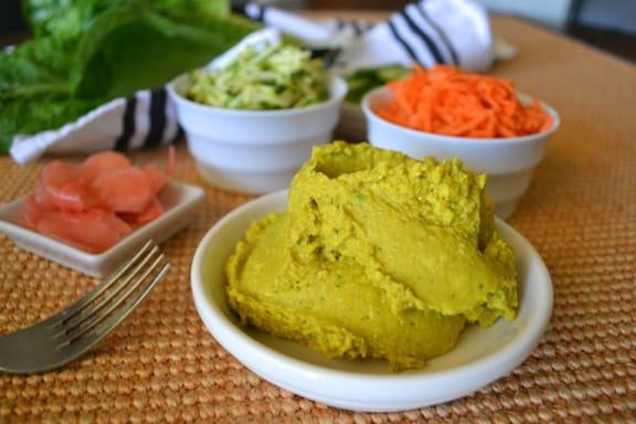 Coconut-Curry-Lettuce Wraps recipe