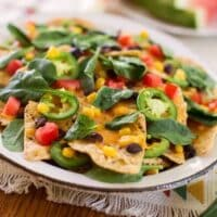 Fully Loaded Vegan Nachos