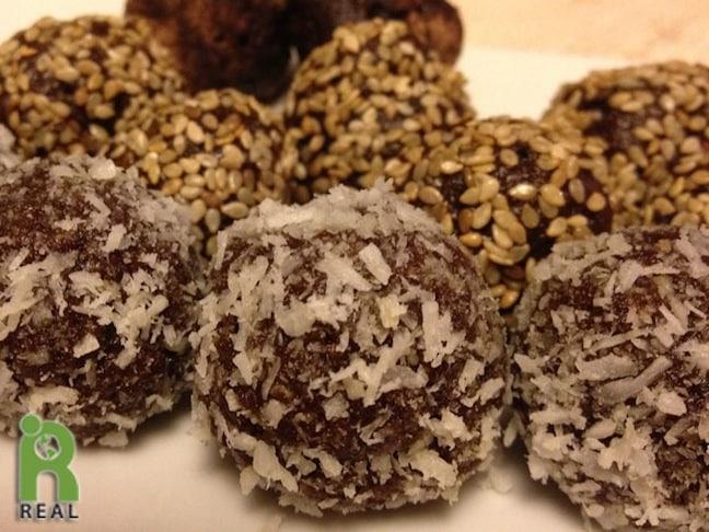 Apricot Nut Balls by Caryn Hartglass