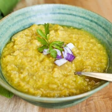 Curried Lentil Soup from Leslie Cerier