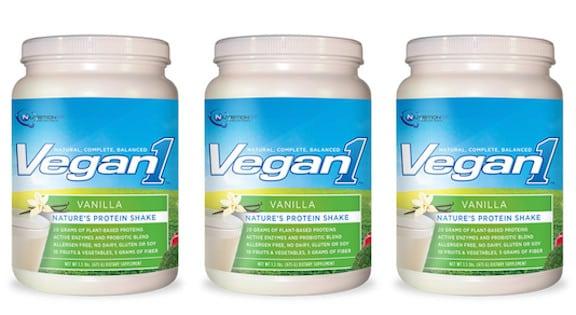 Vegan1 protein shake vanilla