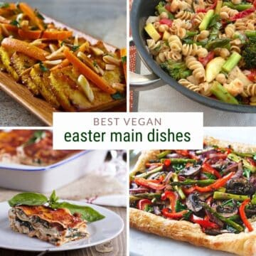 vegan easter main dishes