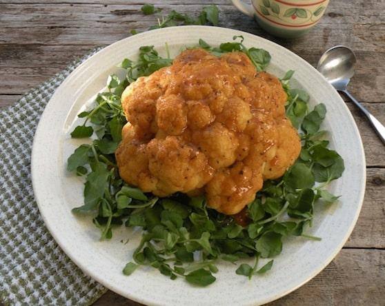 Cauliflower crown roast recipe
