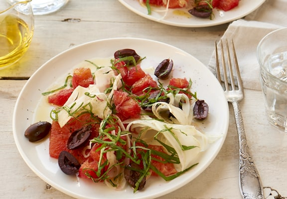 Blood orange and olive salad by Jason Wyrick
