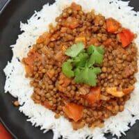 Masala lentil dal by Vegan Richa