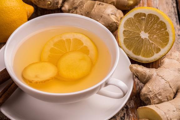 Ginger and Lemon Tea recipe