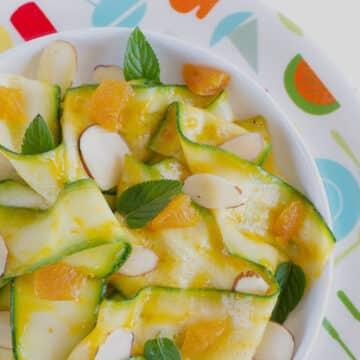 Zucchini Apricot Salad