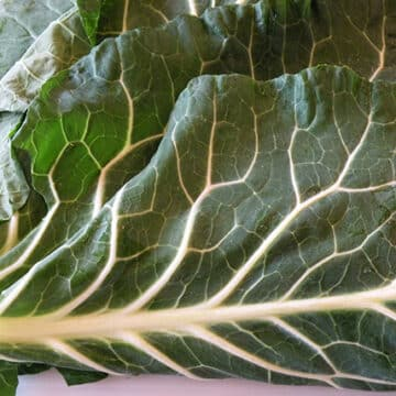 Collard greens whole leaves