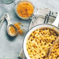 Vegan mac n cheese mix by Miyoko Schinner