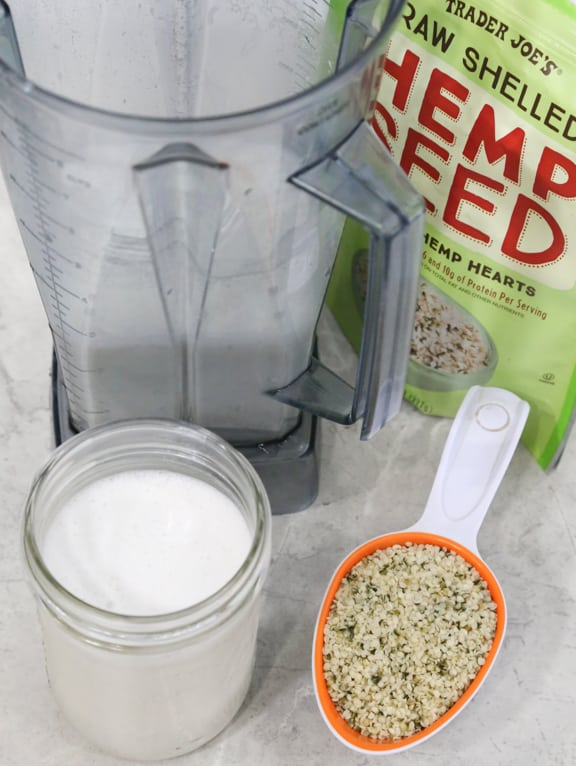 Homemade Hemp Milk recipe