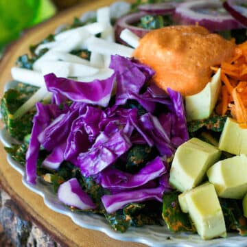 Rawkin Kale Salad recipe by Somer McCowan