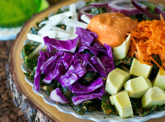 Rawkin Kale Salad recipe by Somer McCowan