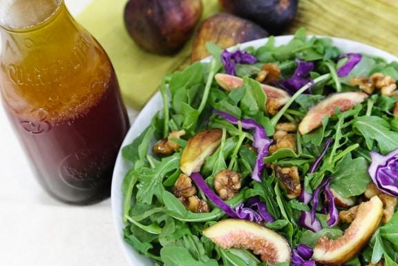 Fresh Fig and Arugula Salad