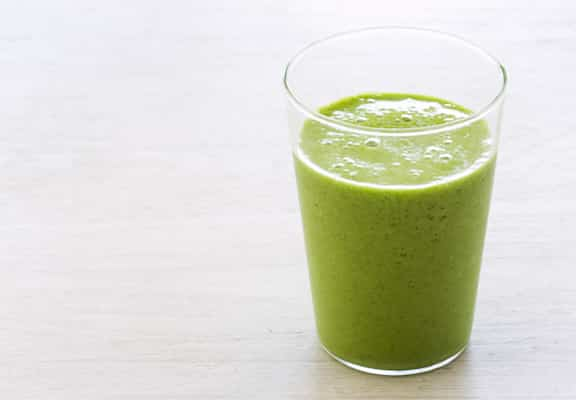 Green Mojito smoothie by Tess Masters