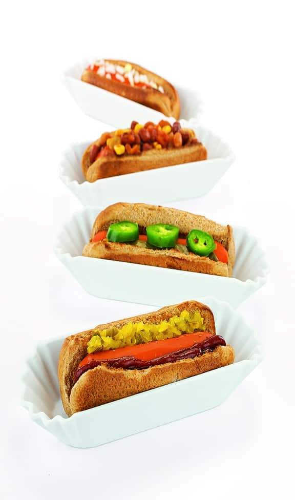 "Carrot ""hot dogs"" recipe by Kathy Hester"