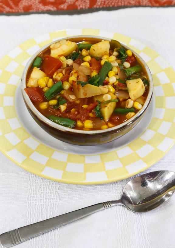 Southwestern Corn Stew recipe