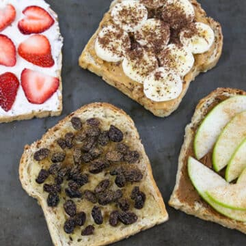 Sweet spreads for toast