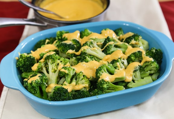 Mustard-Spiked Vegan Cheese-y Sauce