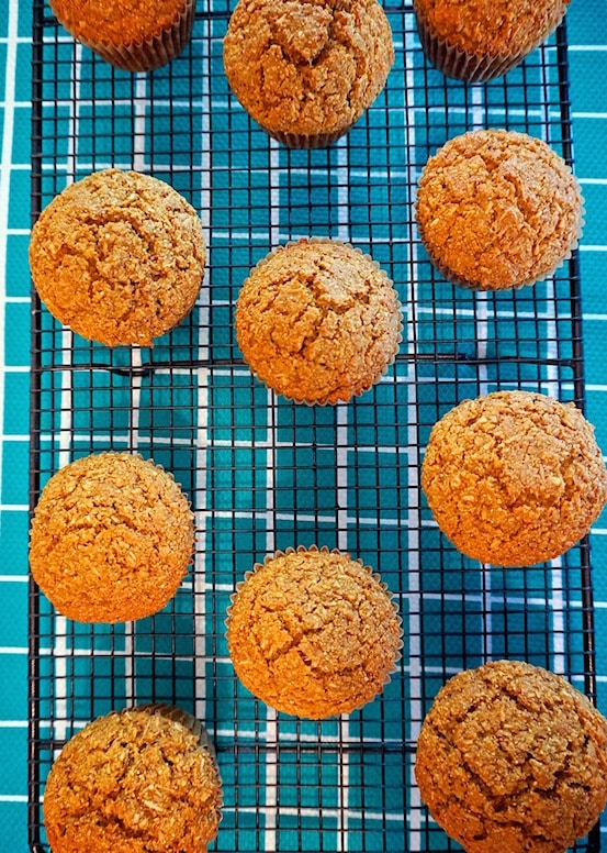 Vegan Coconut corn muffins