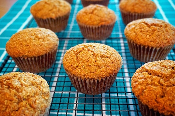 Coconut lime muffins by Laura Theodore